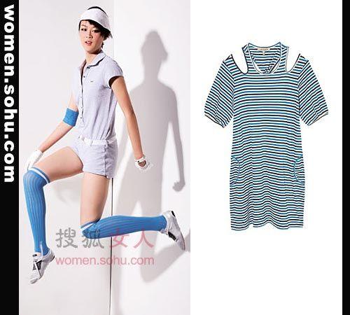 POLO衫搭配 看奥运比赛最时尚搭配
